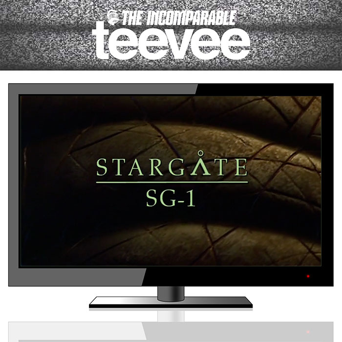 The Incomparable TeeVee Stargate SG-1 Podcast Logo